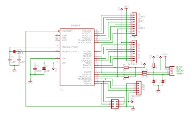 retro schematic