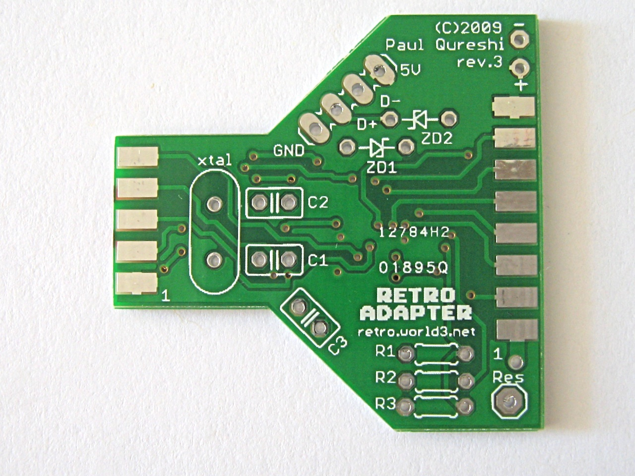 Retro Adapter Dualshock 2 Wiring Diagram Pcb Rev